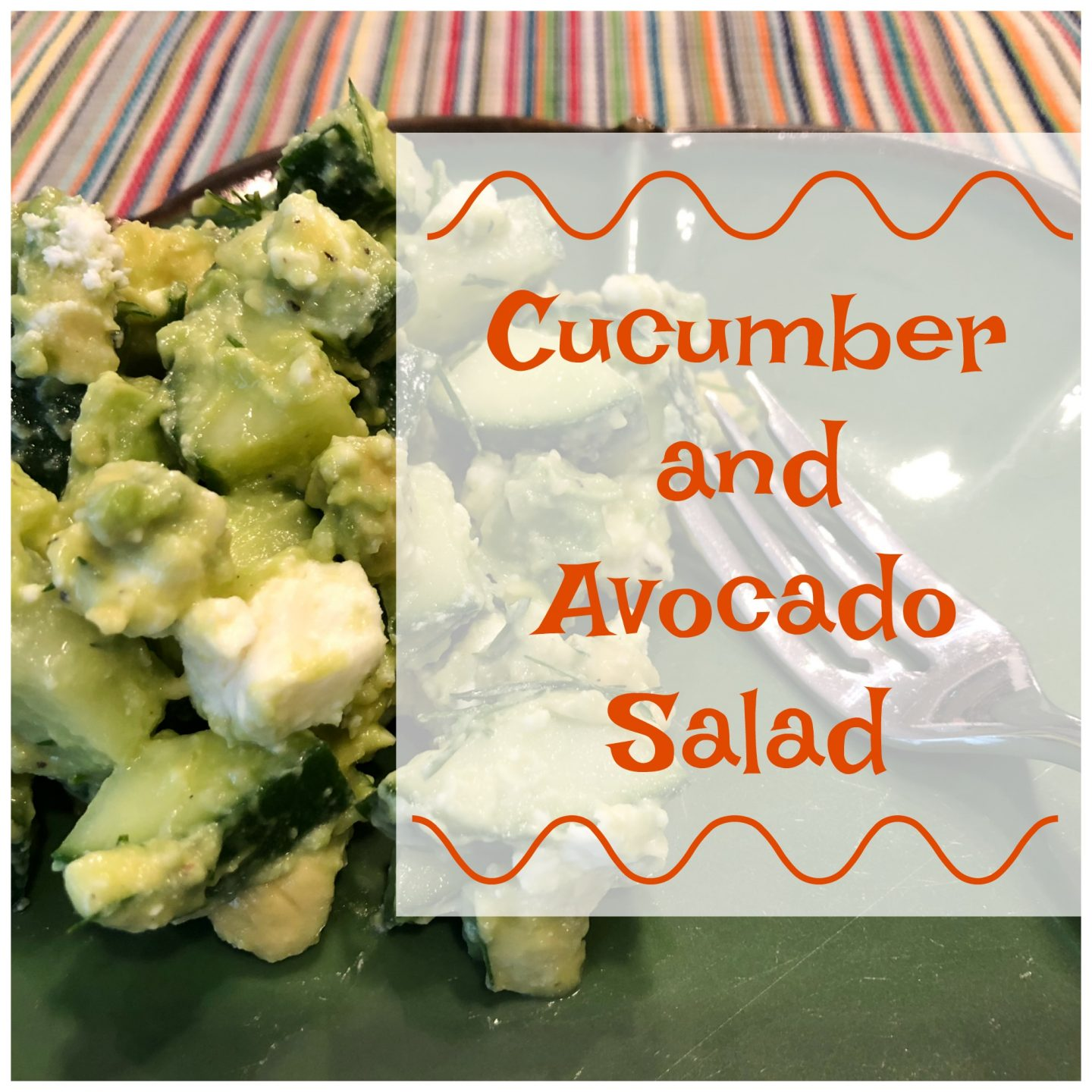 Low Carb Cucumber and Avocado Salad