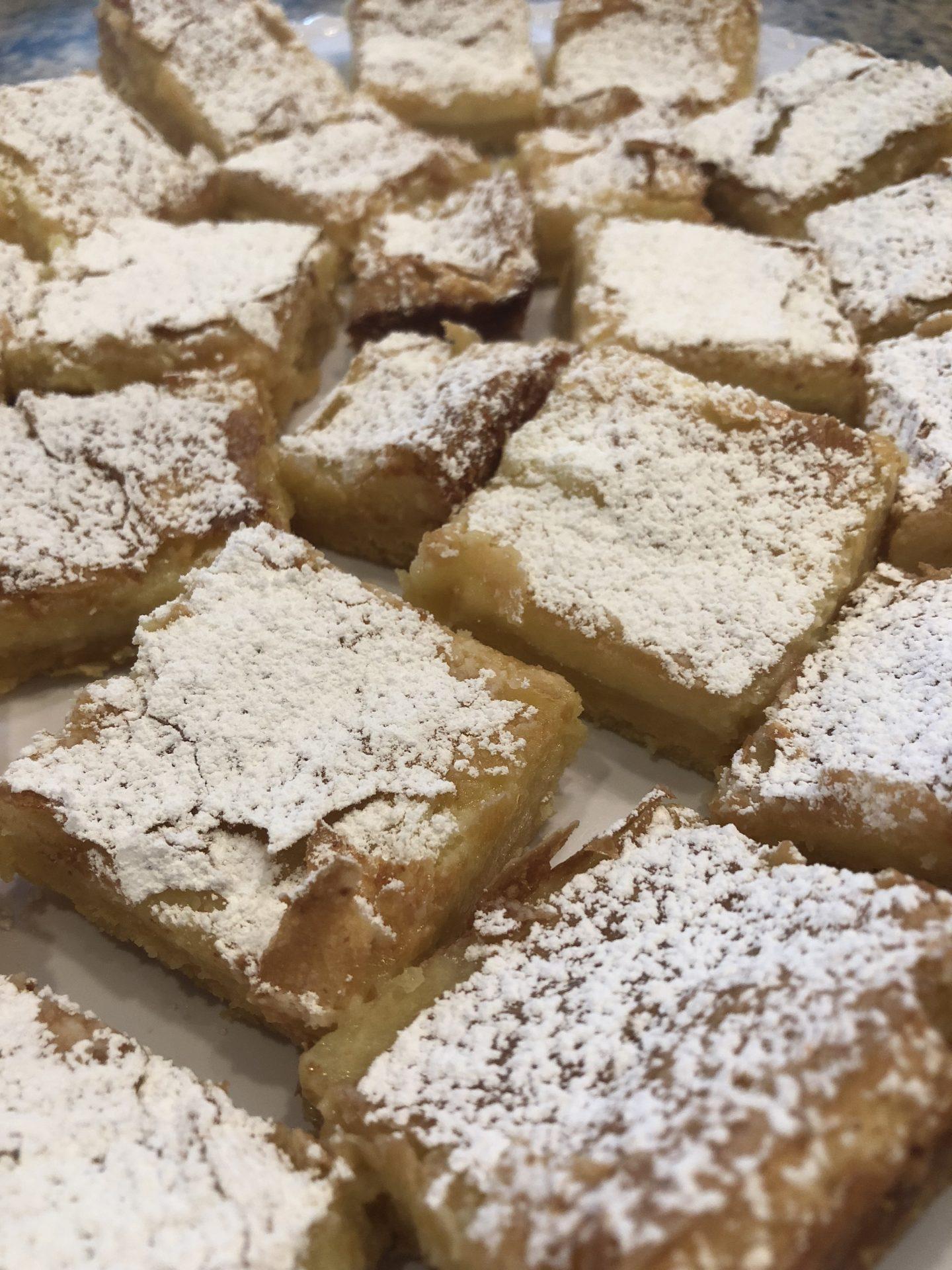 Dessert, Chess Squares