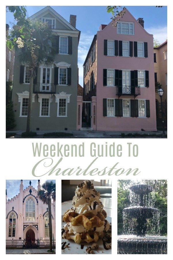 A Weekend In Charleston, SC