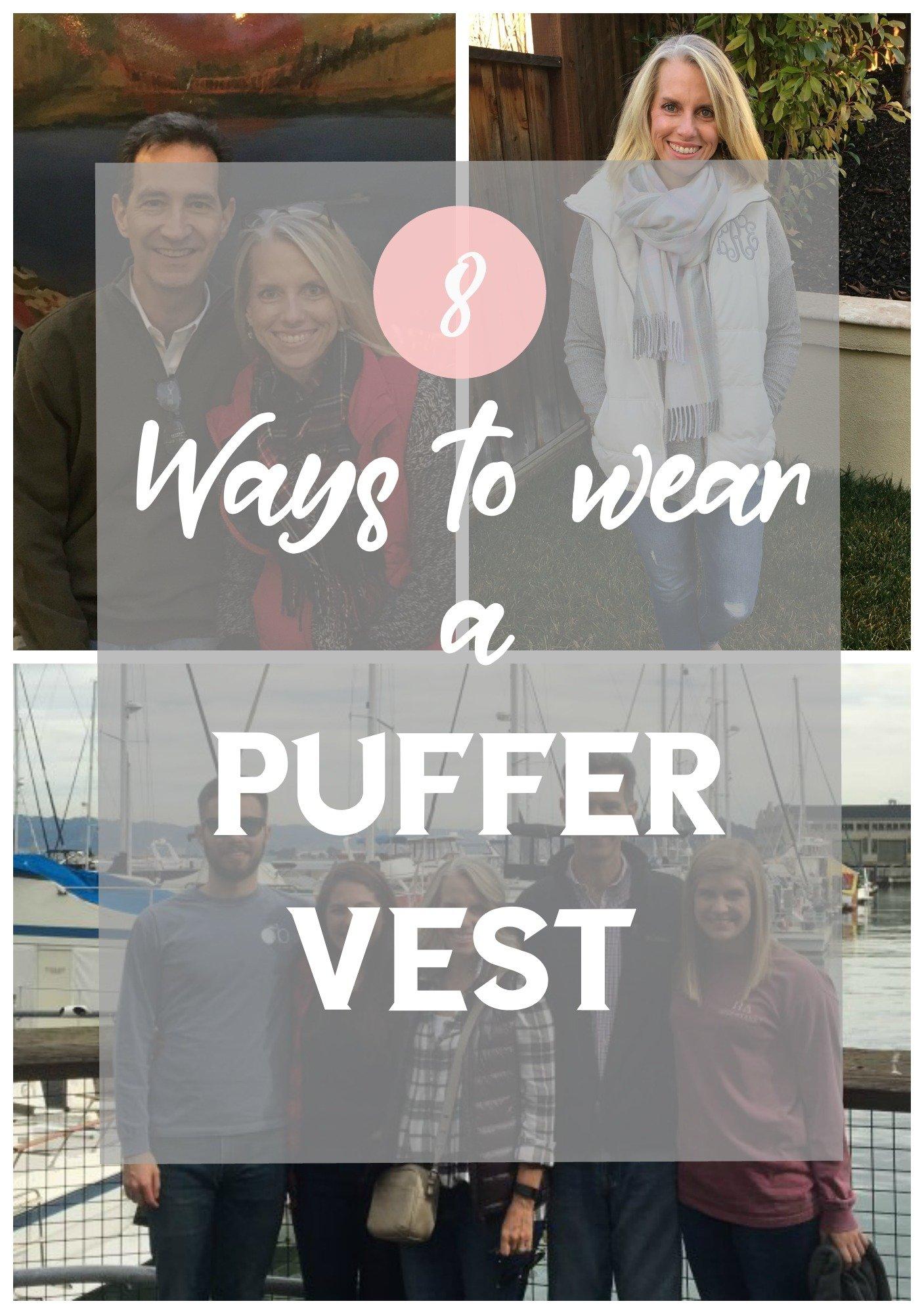 8 ways to wear a puffer vest
