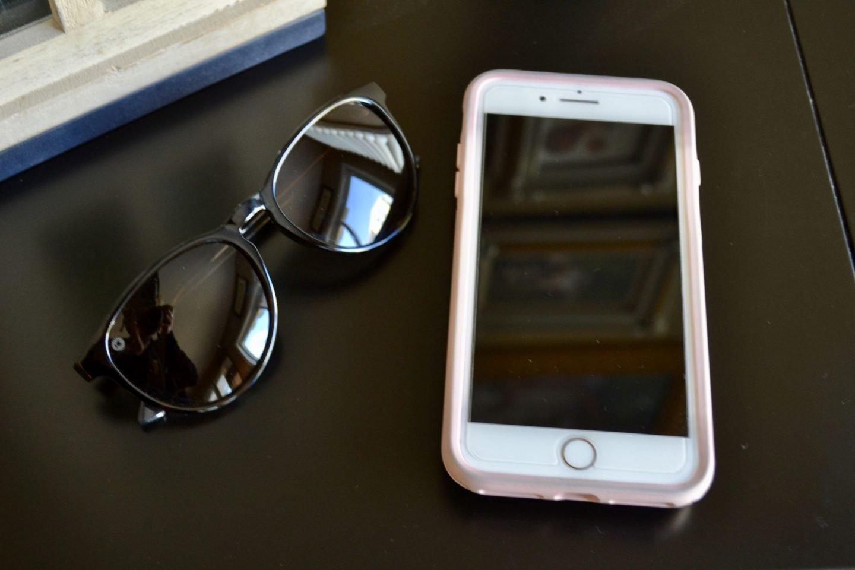 Dress and Sunglasses