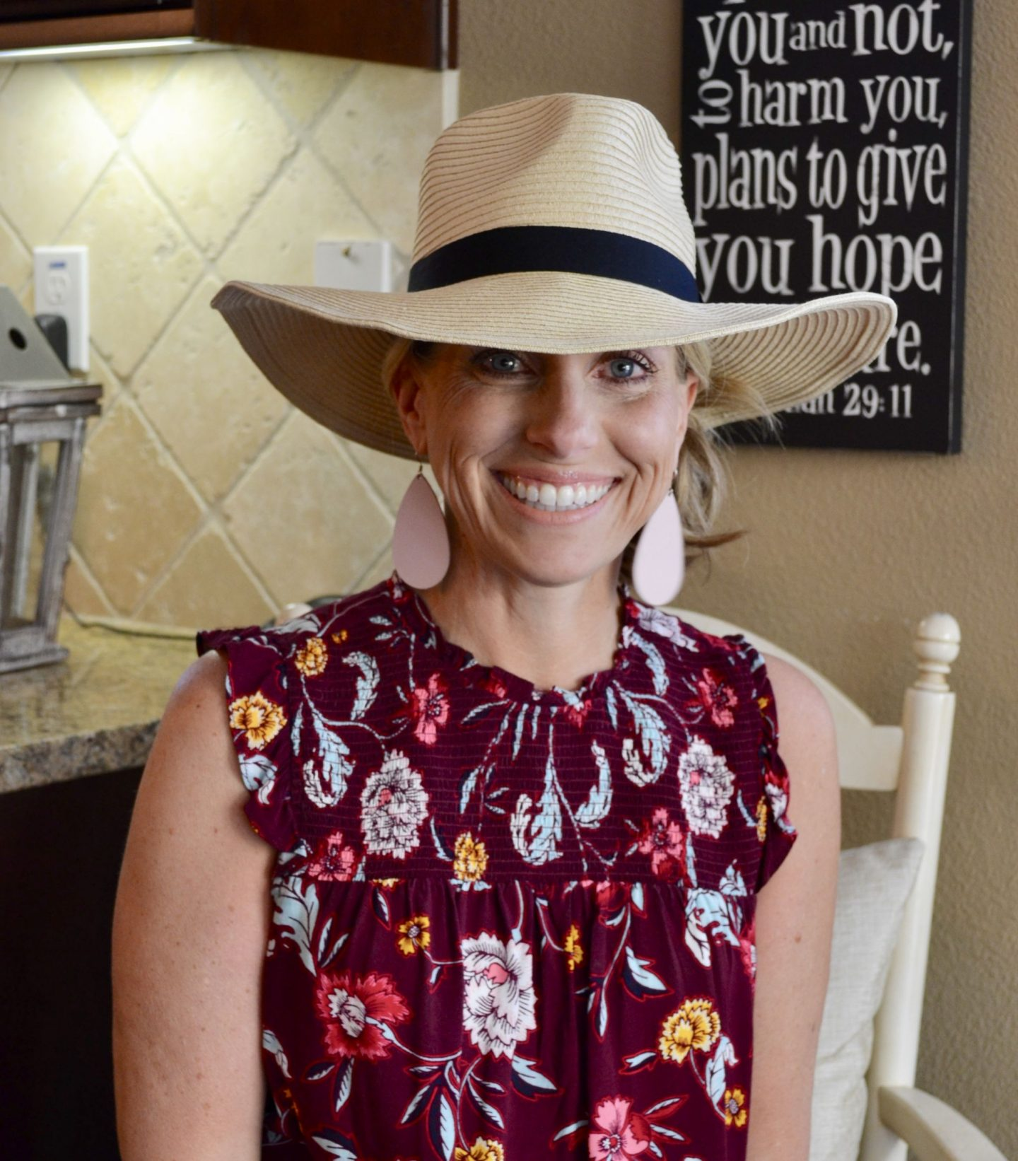 Straw Hat from Nordstrom