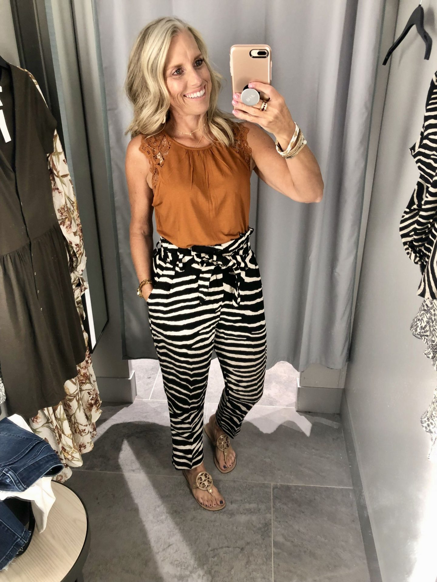 H&M pants and top