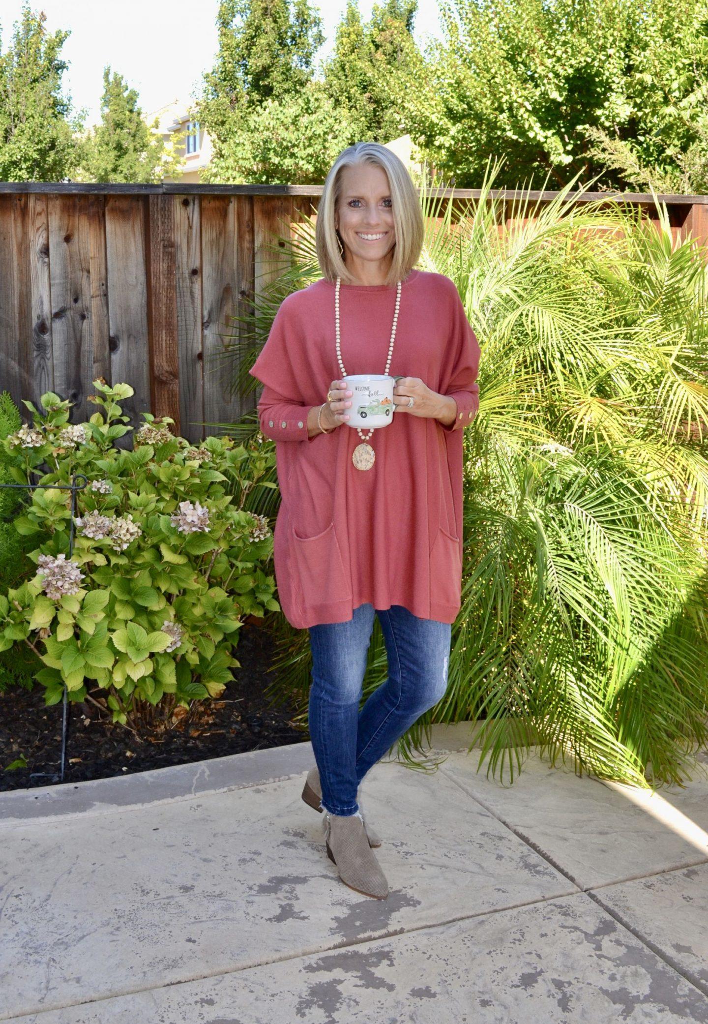 Pink Blush Sweater