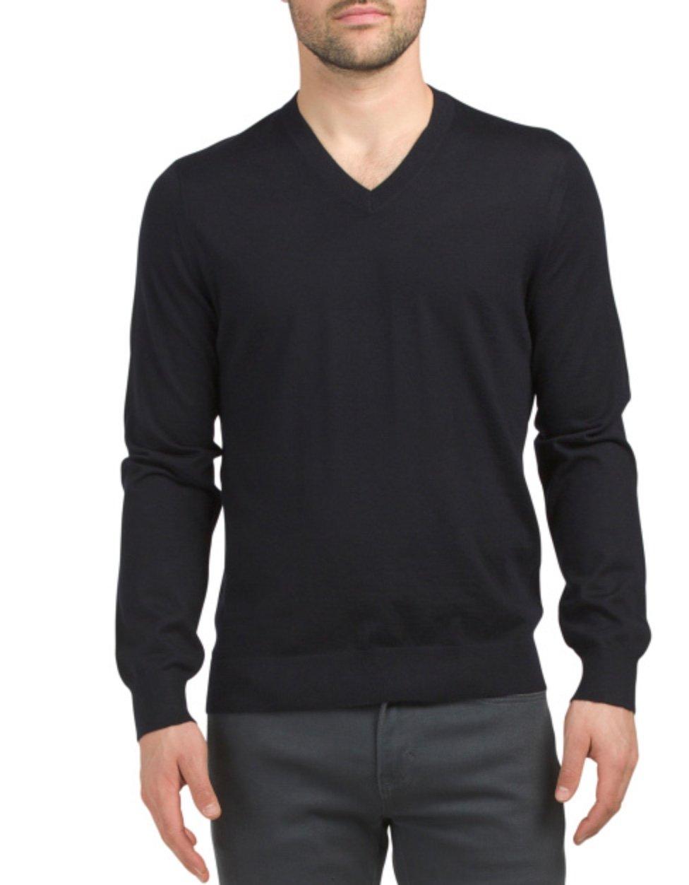 Men's Cashmere Sweater, TJMaxx