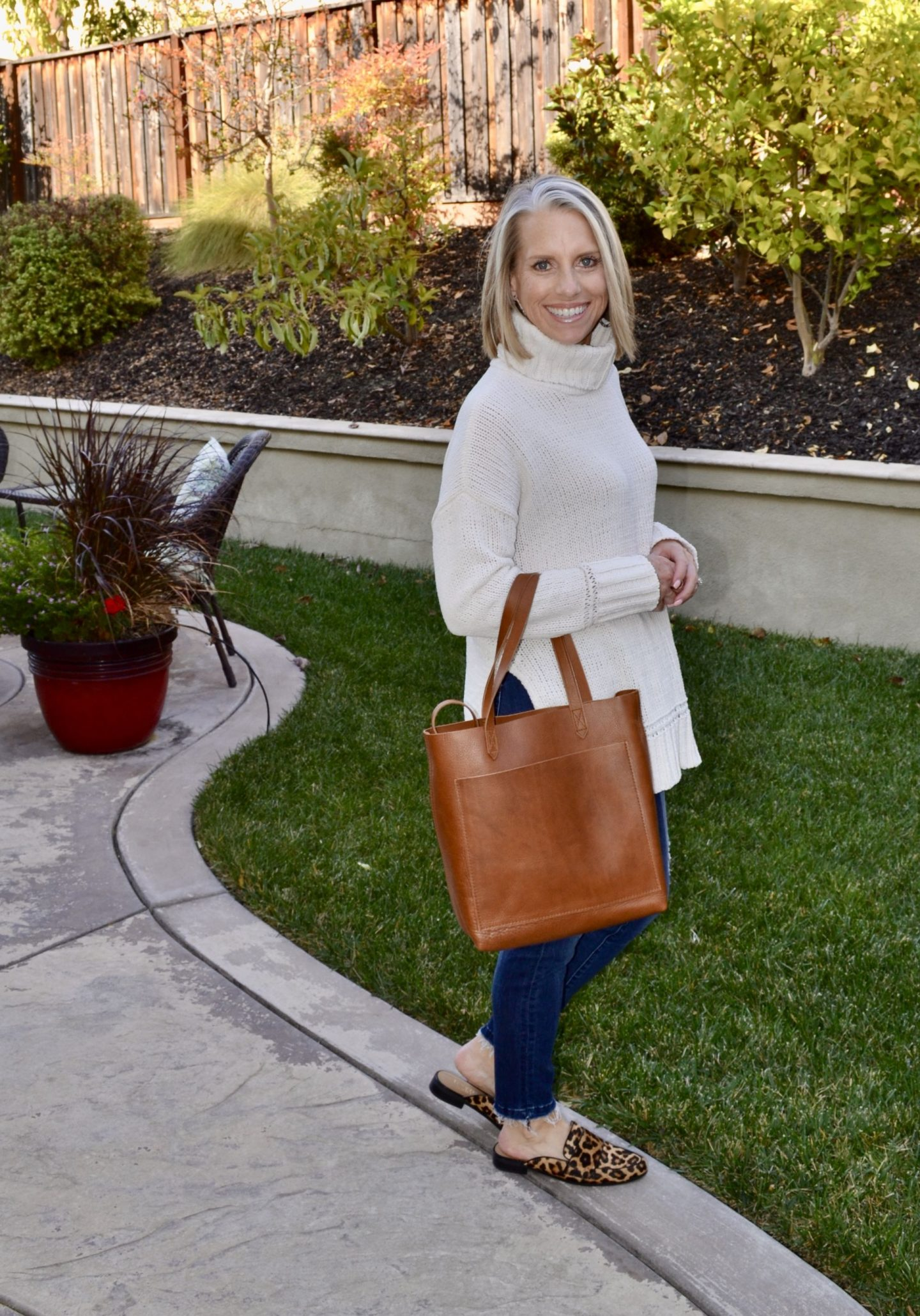 Madewell Tote, favorite fall purchases