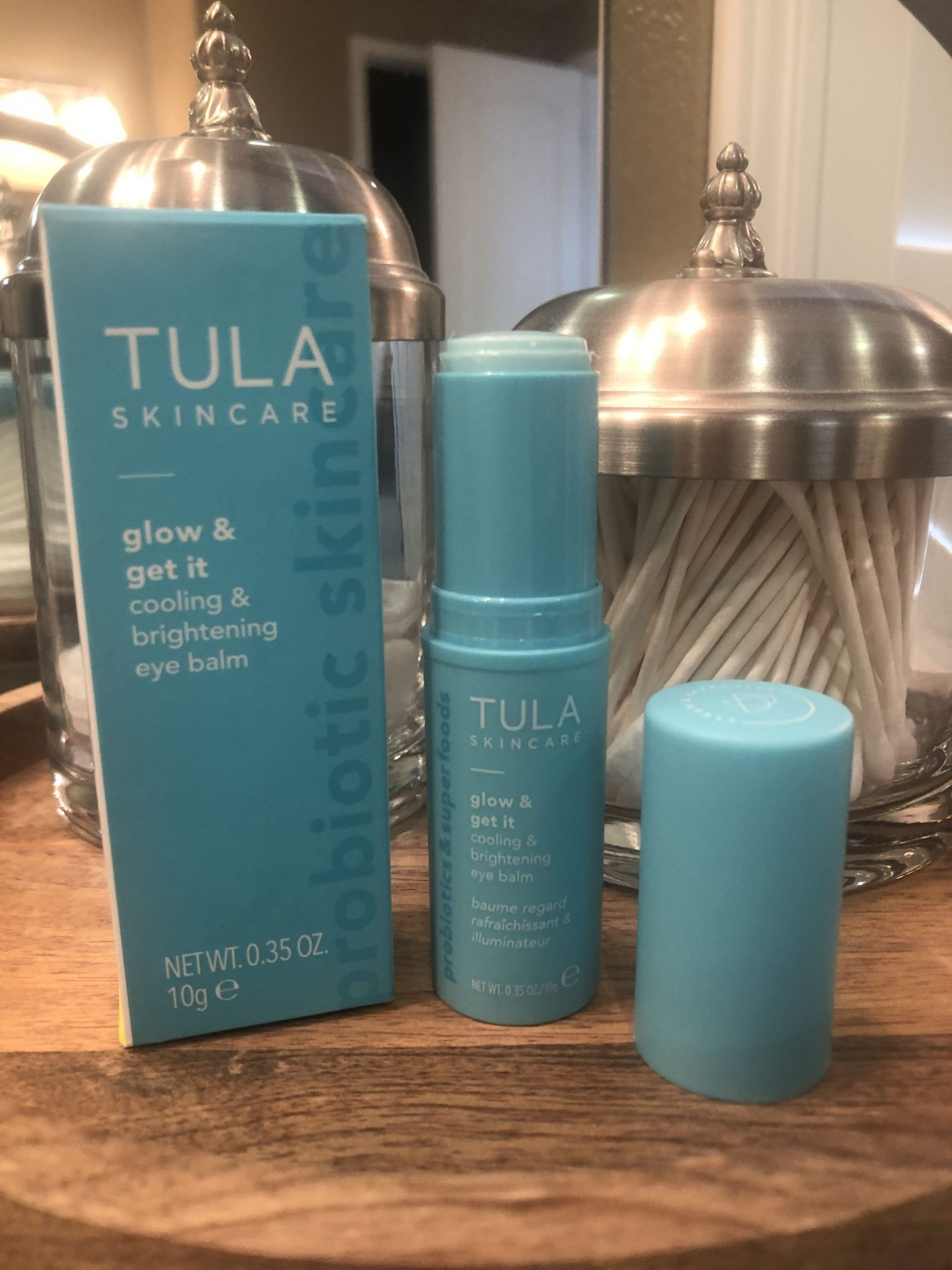Tula Cooling Brightening Eye Balm, First Friday Favorites of February