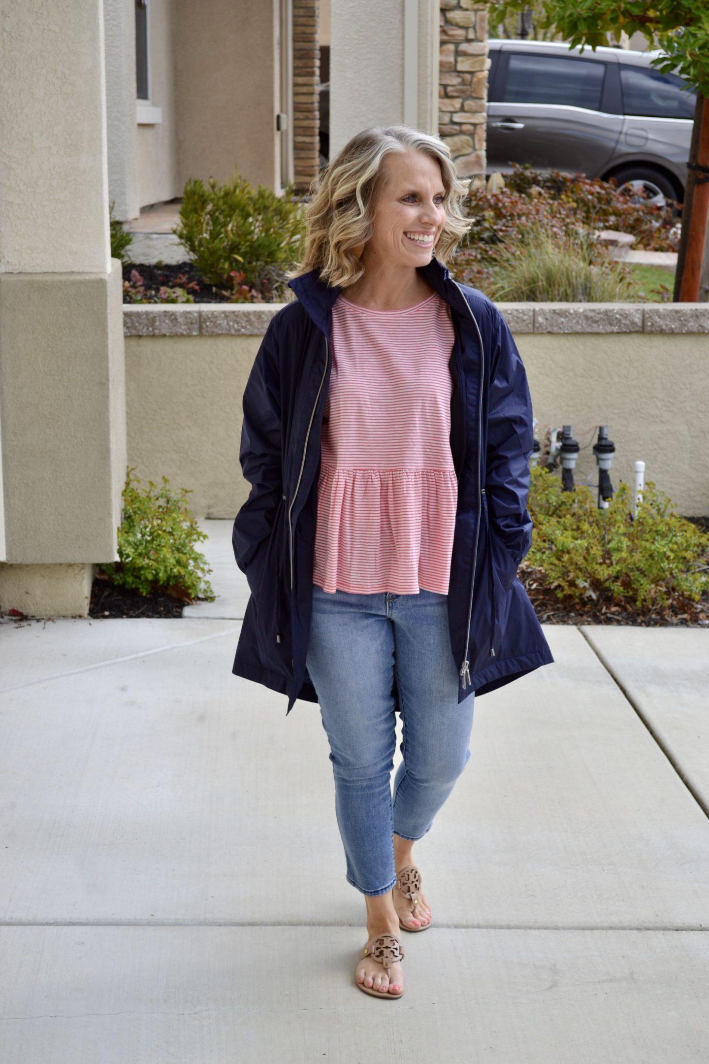 Peach Anorak jacket