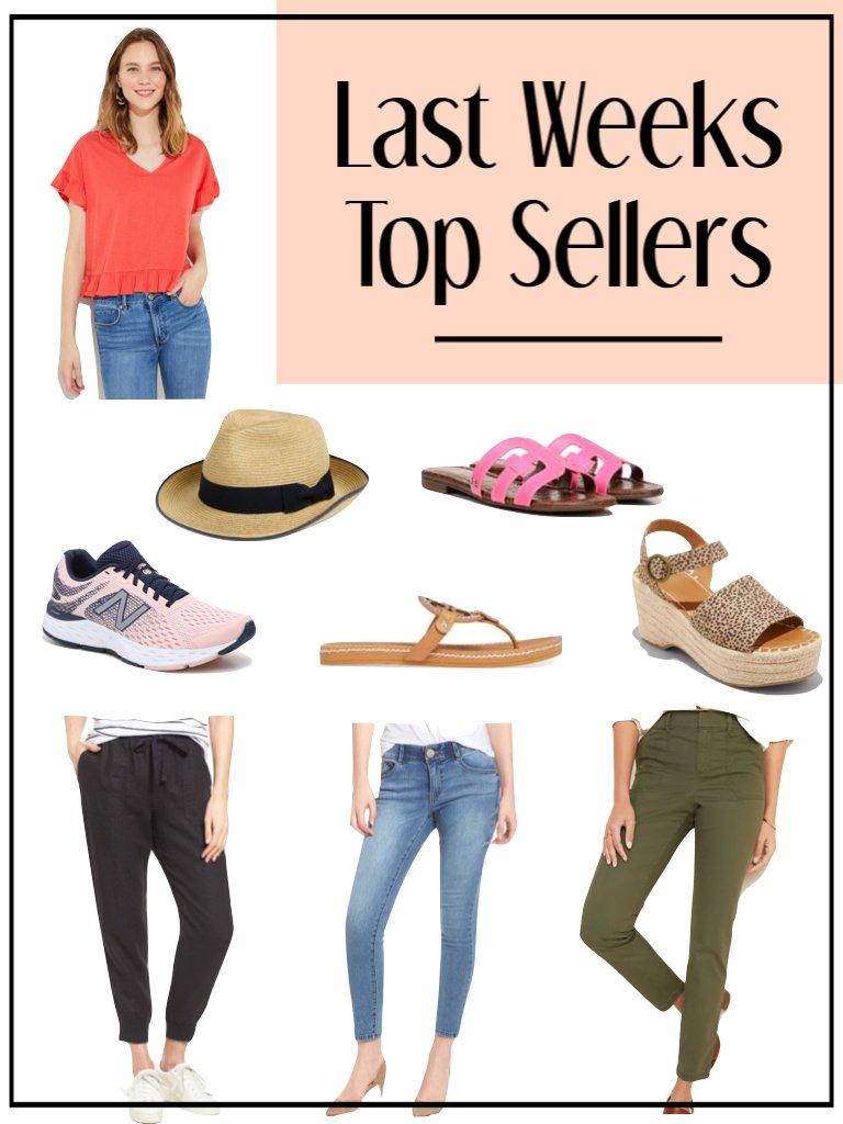 Top Sellers Last Week