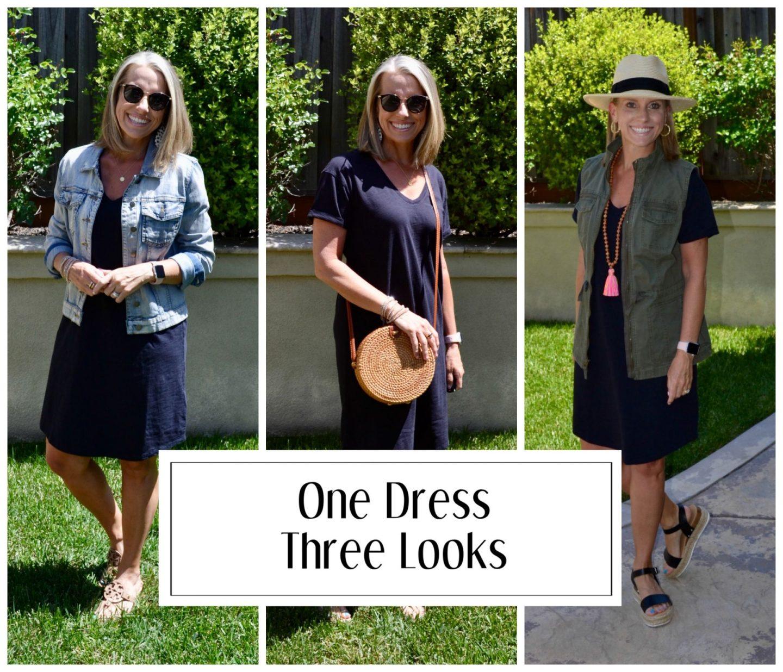 One dress, three ways
