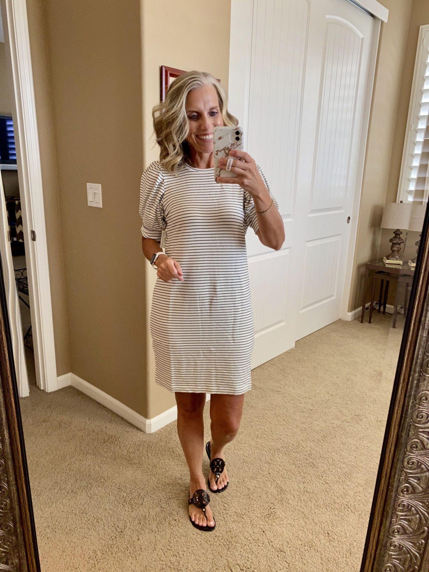 Prime Wardrobe, Striped dress