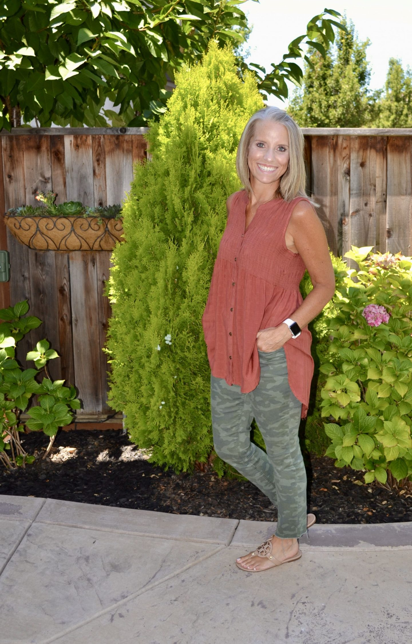 When Sweet Meets Sassy – Smocking and Camo