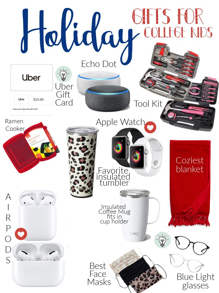 gifts for college kids