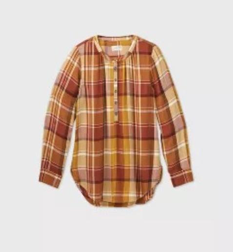 flannel, November's top sellers