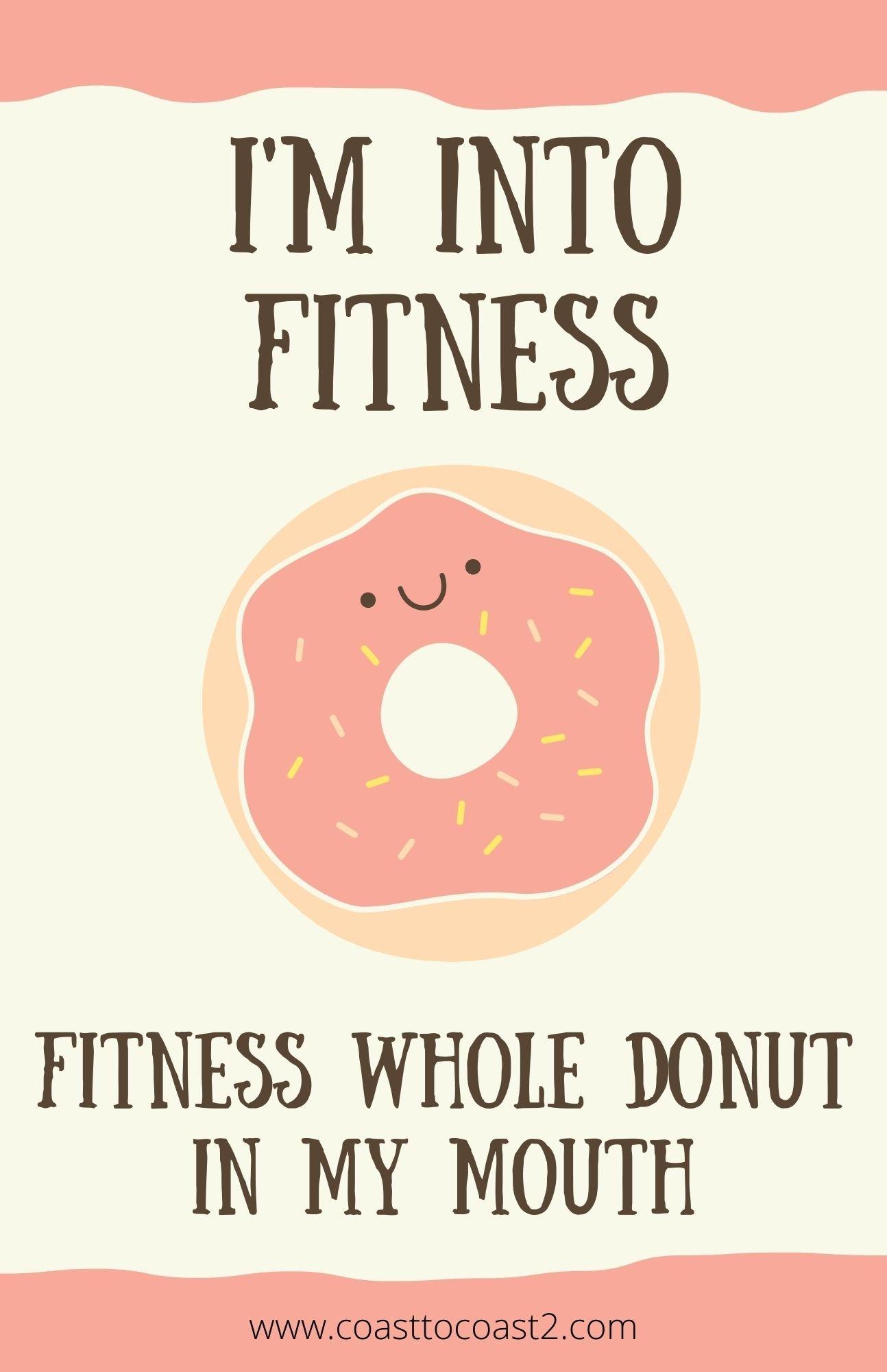 I'm into fitness