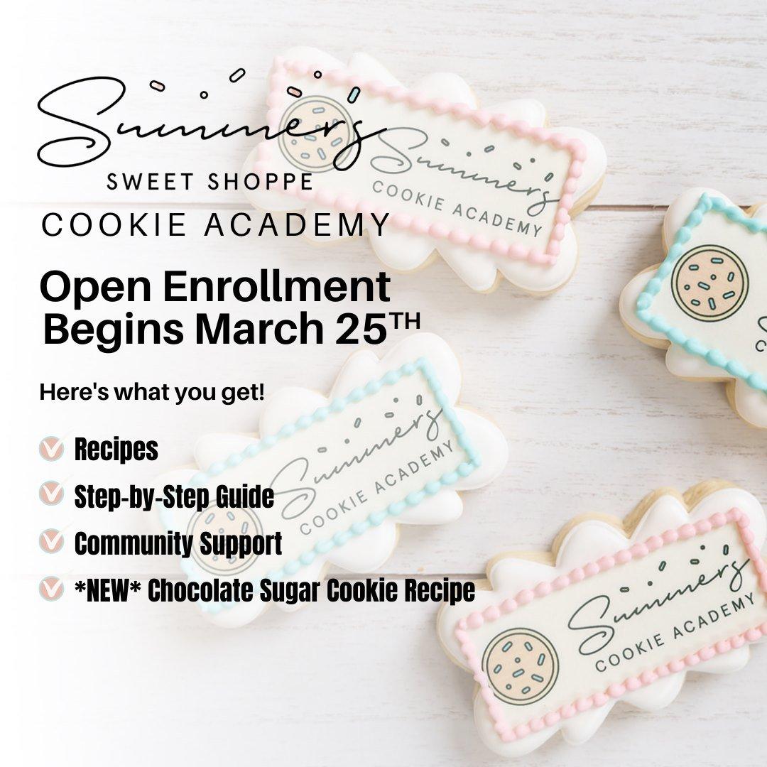Learning to Make Beautiful Sugar Cookies