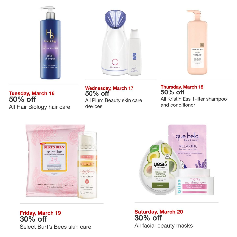 Beauty sales at Target & Ulta