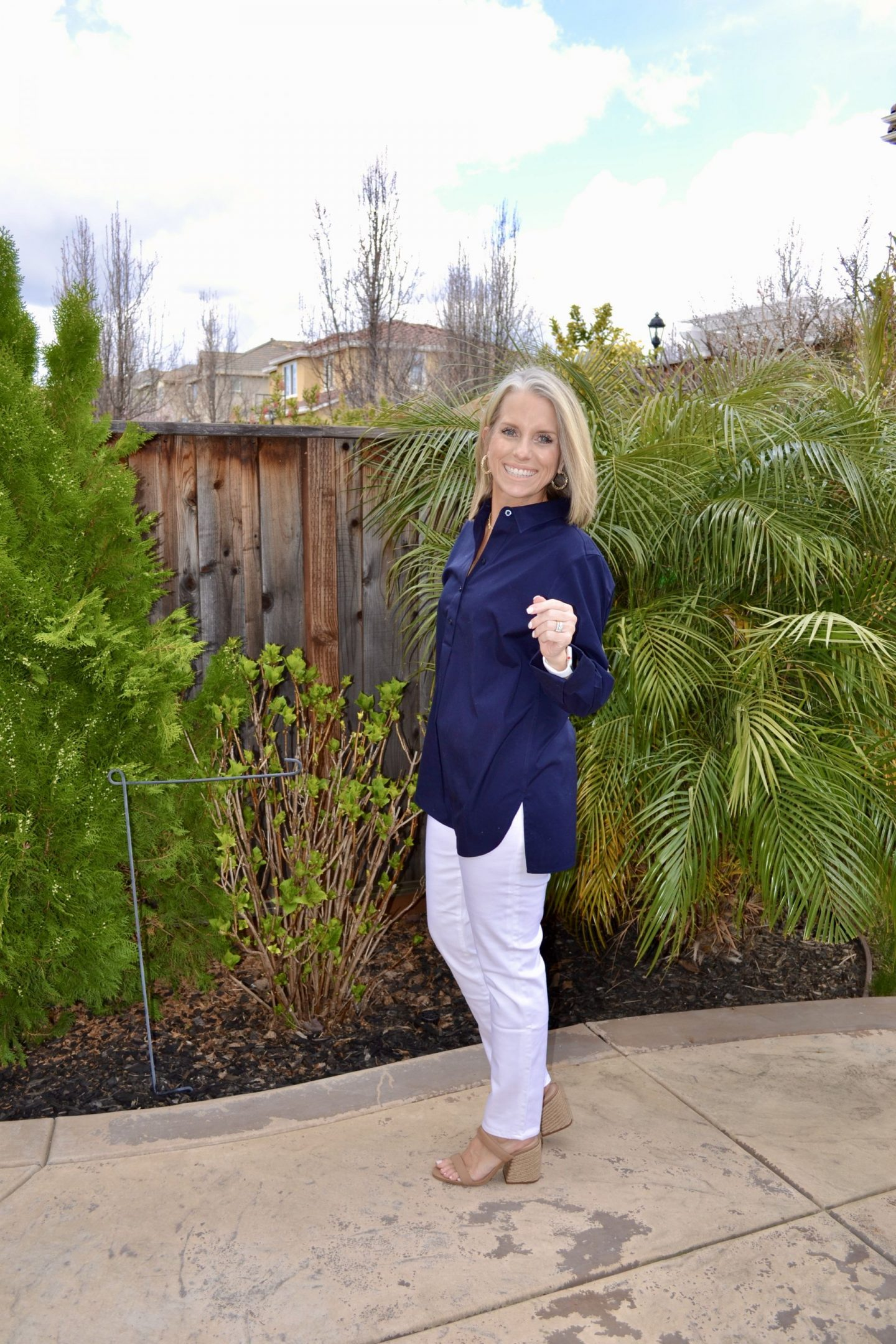 blue and white nautical look for spring