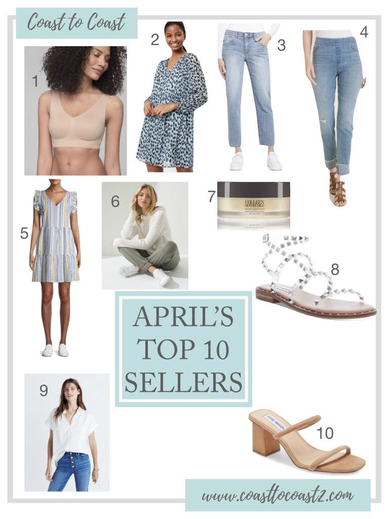 April's Top 10 Sellers