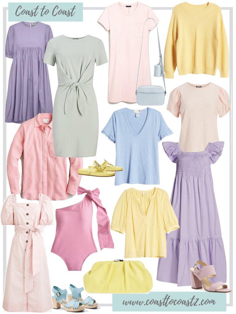 pastel spring trend