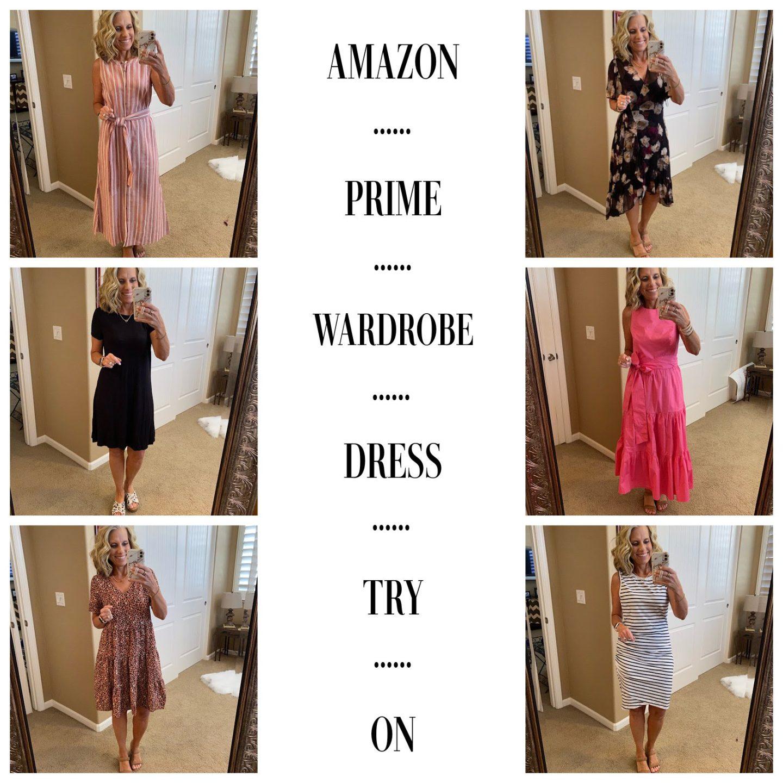Amazon Prime Wardrobe Dress Try On
