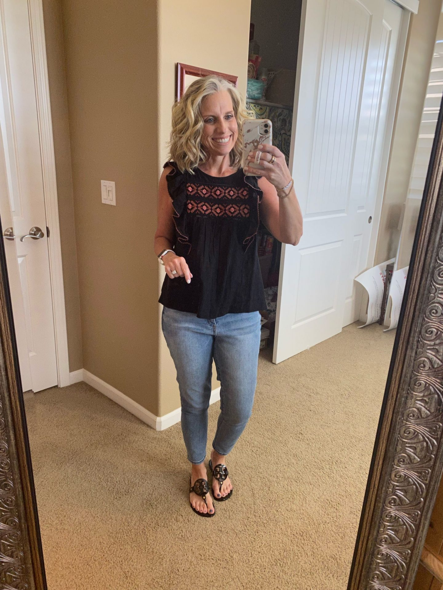 What I've Been Wearing lately, Madewell top