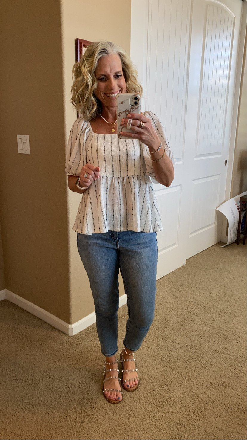 Madewell Top What I've been wearing lately