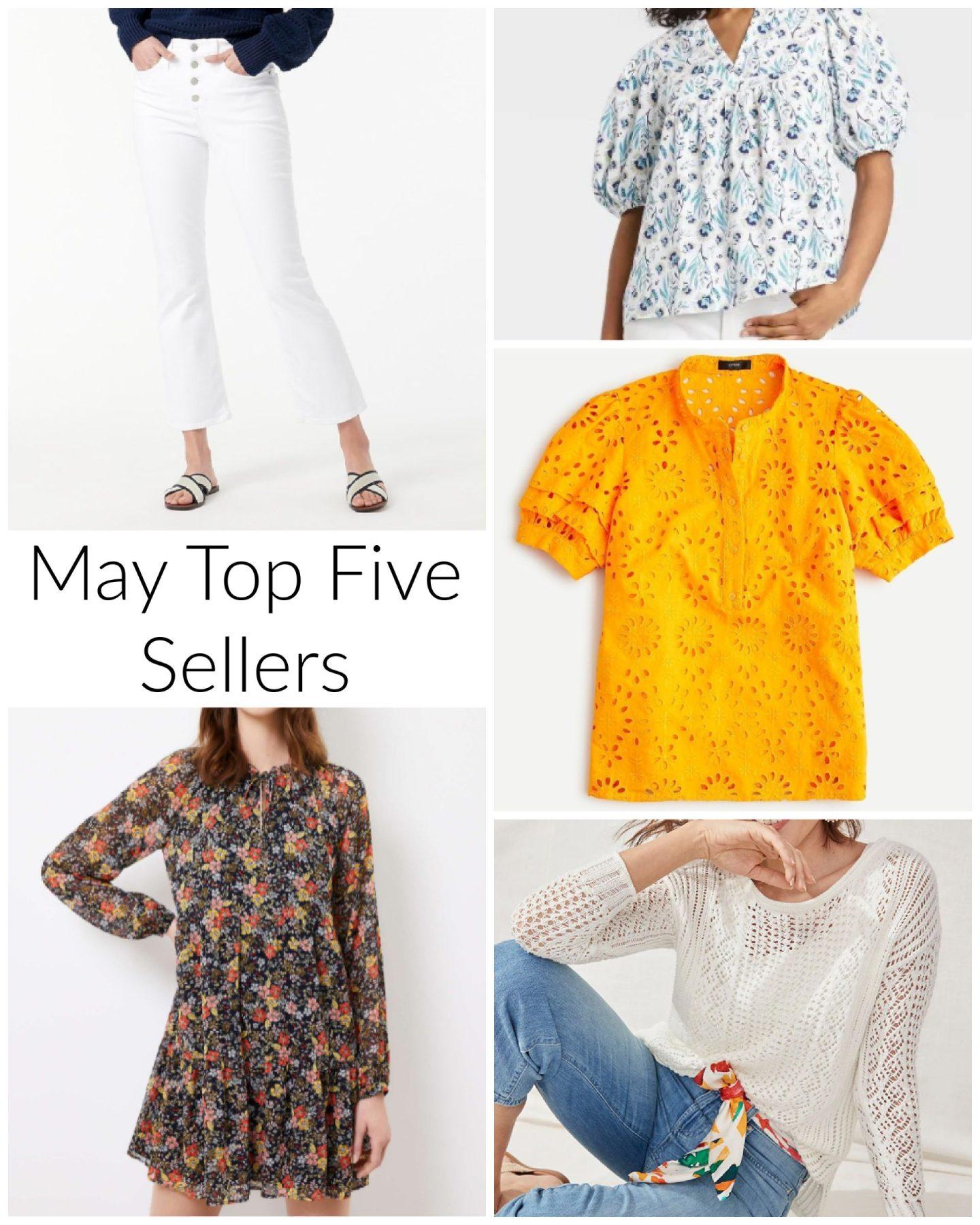 may top five sellers