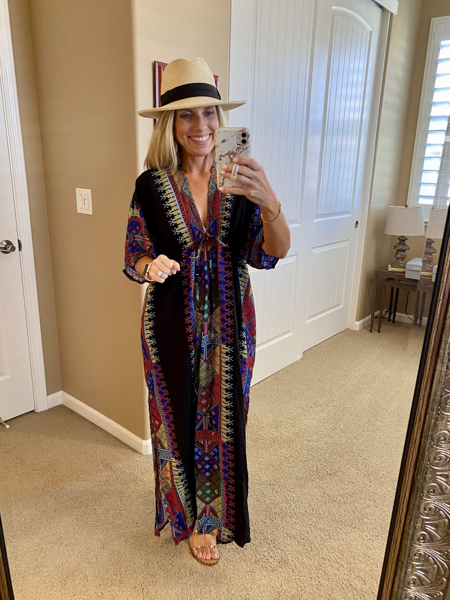 Caftan Swimsuit cover up