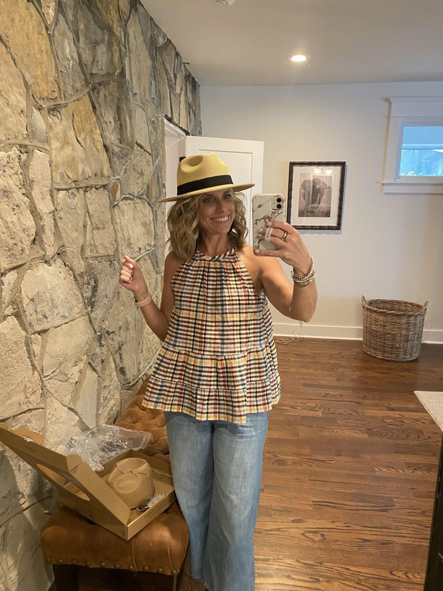 straw hat summer must have