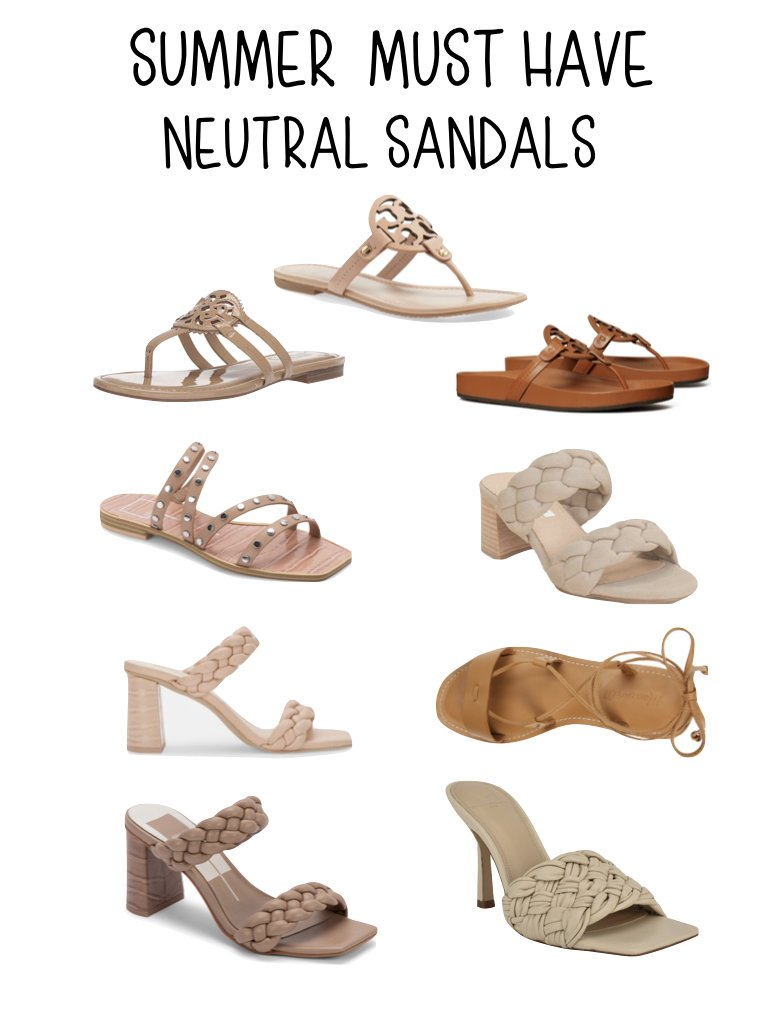 summer must have sandals