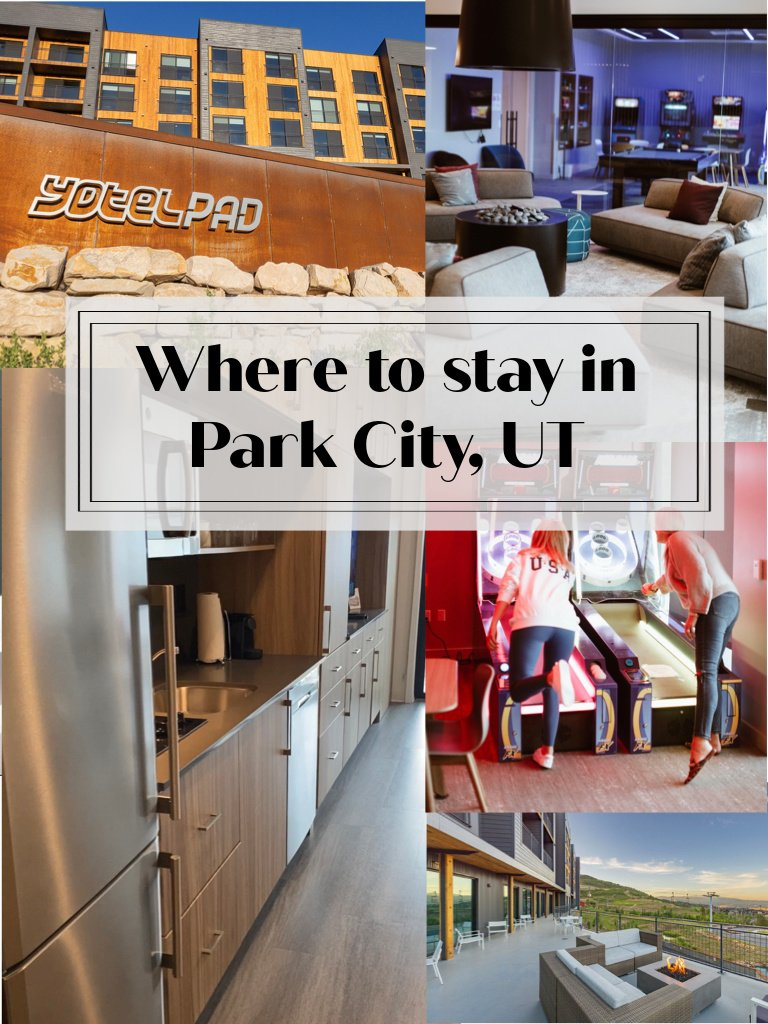 Where to stay in Park City, UT