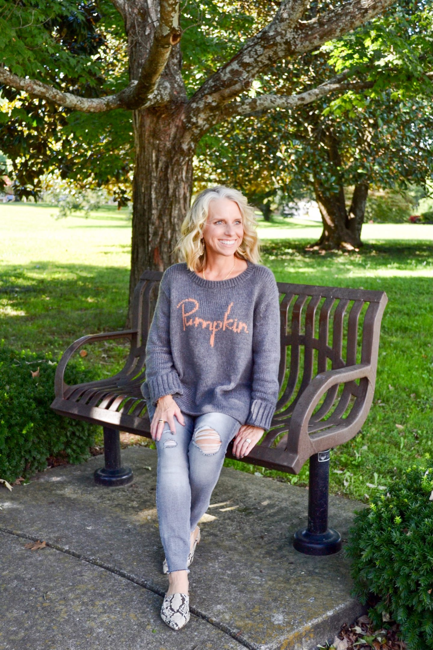 Perfect Pumpkin sweater
